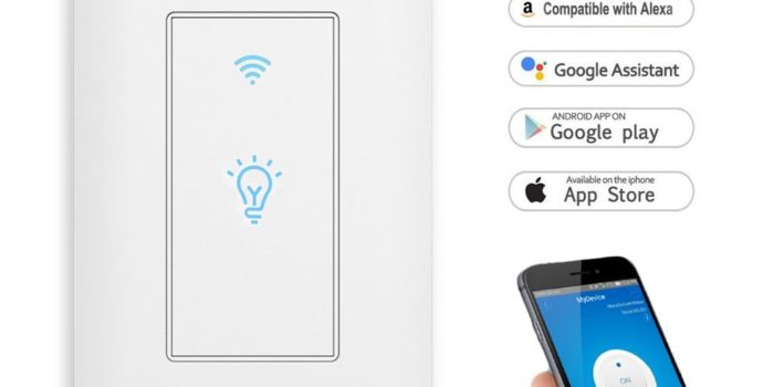 Smart Switch LYASI Wi-Fi Light Switch