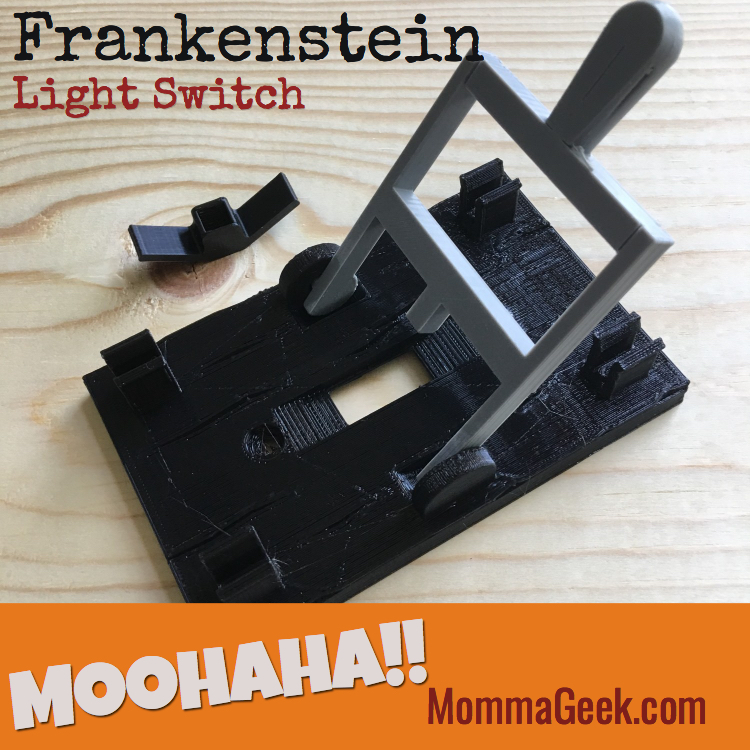 Frankenstein light switch plate unboxing