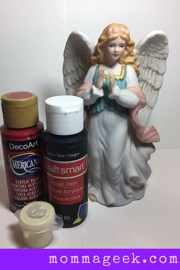 Supplies for Haunted Statue